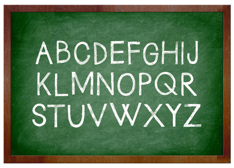 英語アルファベット